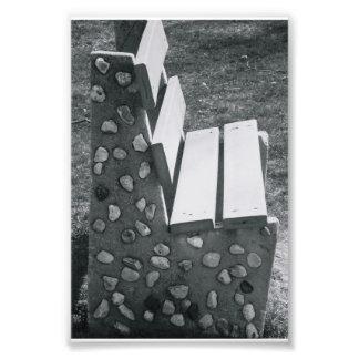 Fotografía L1 4x6 blanco y negro de la letra del a