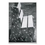 Fotografía L1 4x6 blanco y negro de la letra del Arte Fotografico