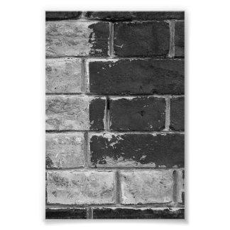 fotografía L2 4x6 blanco y negro de la letra del Fotografías