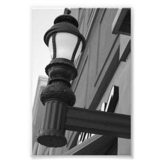 Fotografía L8 4x6 blanco y negro de la letra del Fotos