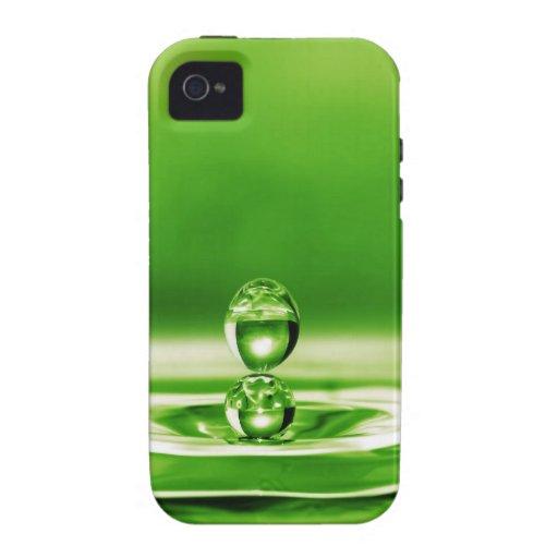 Fotografía líquida - tónico del veneno vibe iPhone 4 carcasas