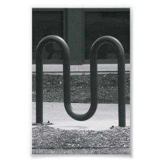 Fotografía M1 4x6 blanco y negro del alfabeto Fotografía