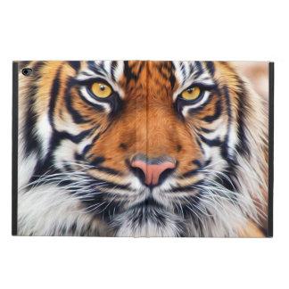 Fotografía masculina de la pintura del tigre