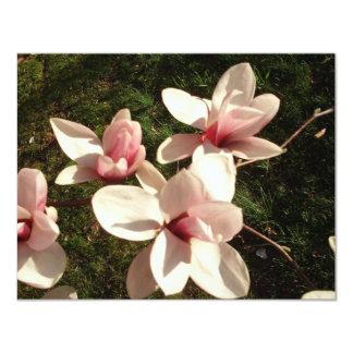 Fotografía Mousepad de las flores de cerezo de DC Invitación 10,8 X 13,9 Cm