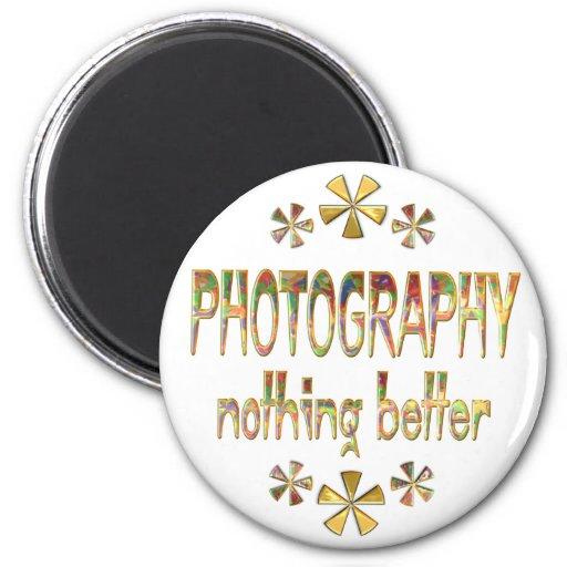 FOTOGRAFÍA nada mejor Imán Redondo 5 Cm