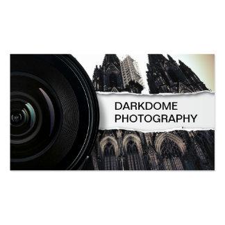 Fotografía negra y blanca profesional tarjetas de visita