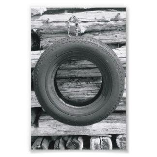 Fotografía O3 4x6 blanco y negro de la letra del a