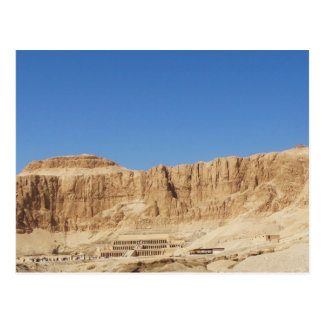 Fotografía panorámica del templo de Hatshepsut Postal