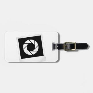 Fotografía Polaroid con la abertura Etiqueta Para Maleta