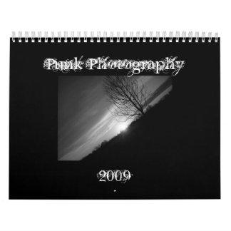 Fotografía punky 2009 calendarios de pared