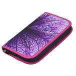 Fotografía púrpura de la macro de la flor planificador