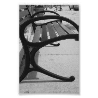Fotografía R5 4x6 blanco y negro de la letra del a
