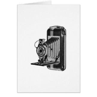 fotografía retra - cámara del vintage tarjeta de felicitación