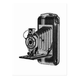 fotografía retra - cámara del vintage tarjetas postales