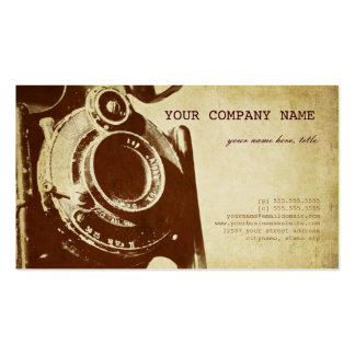 Fotografía retra del vintage tarjetas de visita