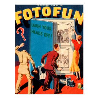 Fotografía retra Fotofun del kitsch del vintage Tarjetas Postales