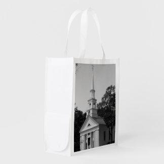FOTOGRAFÍA reutilizable del bolso de la IGLESIA Bolsas Reutilizables