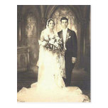 Fotografía romántica del boda de la novia y del no postal