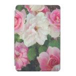 Fotografía rosada de la flor cubierta de iPad mini