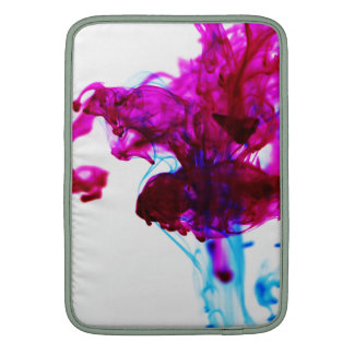 Fotografía rosada de la macro del descenso de la fundas para macbook air