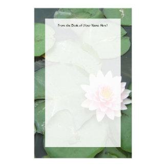 Fotografía rosada y verde del bonito del cojín de papeleria personalizada