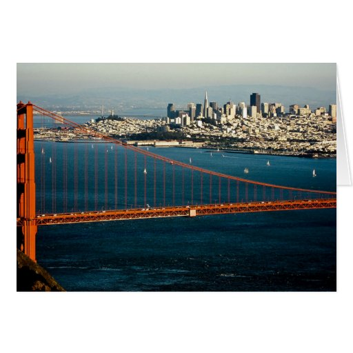 Fotografía San Francisco, los E.E.U.U. - Felicitacion
