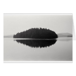 Fotografía superior de la isla de Adirondack del Tarjeta De Felicitación