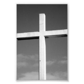 Fotografía T4 4x6 blanco y negro de la letra del a