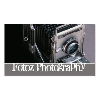 fotografía tarjeta de visita