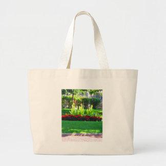 Fotografía verde de la naturaleza de Boston los Bolsa Tela Grande