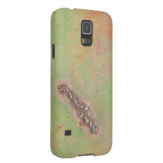 Fotografía verde del Grunge de la soldadura del Carcasa Galaxy S5