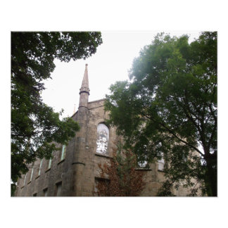 Fotografía vieja de Cornualles de la iglesia del Arte Fotografico