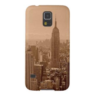 Fotografía vieja de New York City Carcasa De Galaxy S5