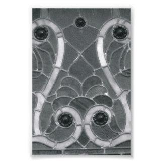 Fotografía W1 4x6 blanco y negro de la letra del a