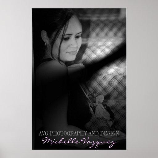 Fotografía y diseño del retrato AVG de los fotógra Impresiones