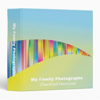 Fotografías abstractas de la familia del arco iris
