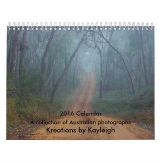 Fotografías de Australia Calendario De Pared