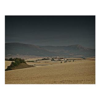 fotografias del Camino de Santiago Tarjeta Postal