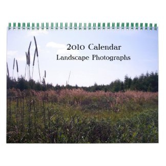 Fotografías del paisaje, calendario 2010