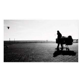 Fotografías del paseo marítimo tarjetas de visita