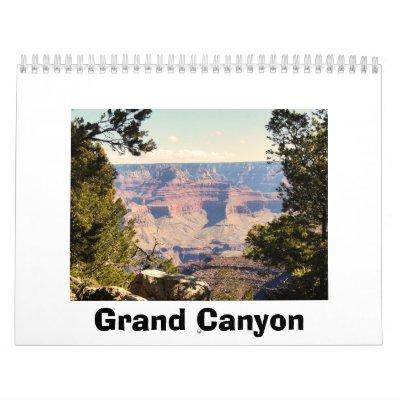 Fotografías únicas del Gran Cañón Calendario