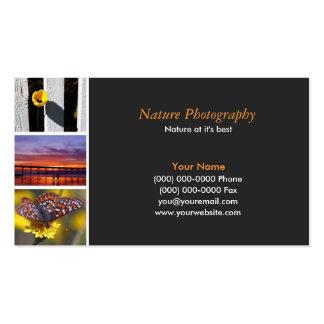 Fotógrafo 2 tarjetas de visita