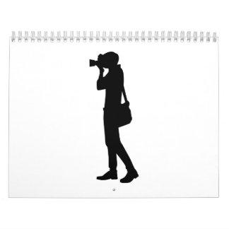 Fotógrafo Calendario