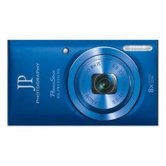 Fotógrafo compacto personalizado de la cámara tarjetas de visita