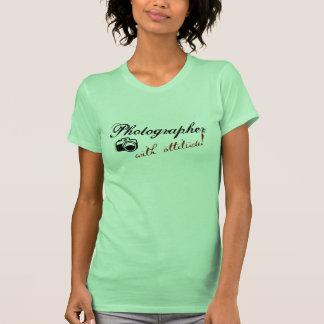 Fotógrafo con actitud camisetas