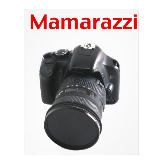 Fotógrafo de Mamarazzi Membrete Personalizado