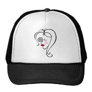 Fotógrafo de sexo femenino gorras