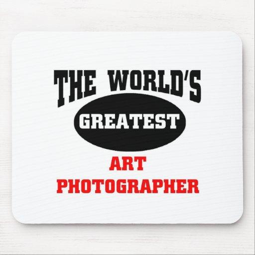 Fotógrafo del arte tapete de ratones