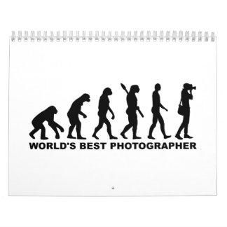 Fotógrafo del mundo de la evolución el mejor calendarios de pared