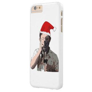 Fotógrafo del navidad funda de iPhone 6 plus barely there